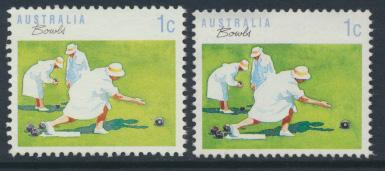 Australia SG 1169 & 1169a  SC# 1106 & 1106A bowls Used / FU  see details
