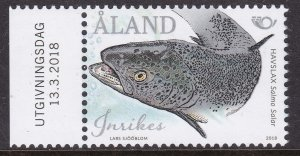 Aland, Fauna, Fishes MNH / 2018