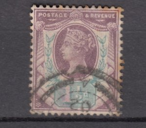 J27510 1887-92 great britain used #112 queen