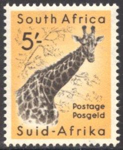 South Africa, Scott #212, Unused, Hinged