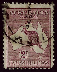 Australia SC#53 Used Fine curved corner SCV$32.50...A very Popular Country!!