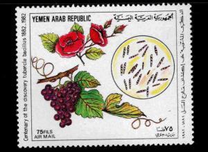 Yemen Scott C113 MNH** 1982 TB stamp