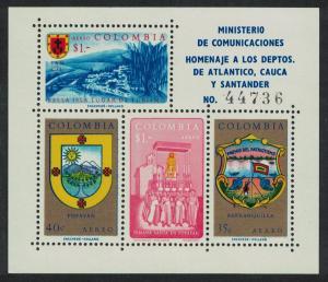 Colombia Atlantico Tourism MS SG#MS1087 MI#Block 23