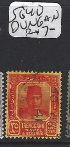 MALAYA TRENGGANU (P1412B) 35C  SG 40  DUNGUN  CDS  VFU
