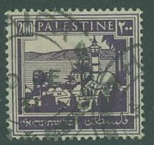 Palestine SC#81 Mosque, 200p, used
