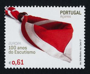 Portugal Azores 501-2 MNH Scouts, Europa