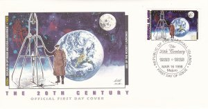 Marshall Islands # 654h, Age of Rocket Laundhings, First Day Cover