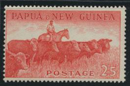 PNG - SG 23    Scott 143  Mint Hinged - SPECIAL