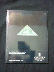 CHRISTIE'S AUCTION CATALOGUE 1987 THE ISLEHAM COLLECTION PART 4, BRITISH EMPIRE
