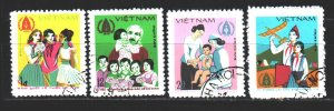 Vietnam. 1979. 1040-43. International Children's Day. USED.