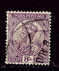 India 91 Used 1911 issue few shortened perfs