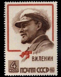 Russia Scott 2727 MNH** Lenin stamp