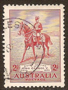 Australia Scott # 152 used. Free Shipping for All Additional Items