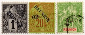 (I.B) France Colonial Postal : Reunion Collection