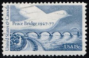 US #1721 Peace Bridge and Dove; Used (0.25)