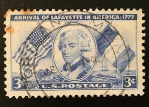 1010 Lafayette, Circulated Single, NH, Vic's Stamp Stash