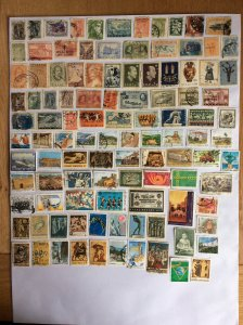 Greece 100+ stamps - Lot B