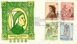 Vatican City FDC #410-413 (7861)