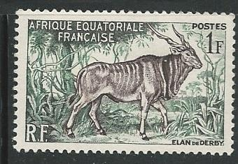 French Equatorial Africa  + Scott # 195 - MH