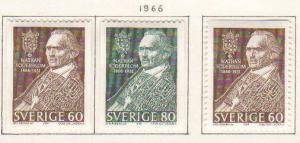 Sweden #693-5 Mint