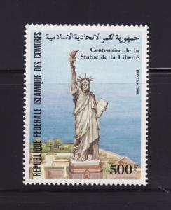Comoro Islands 608 MNH Statue of Liberty