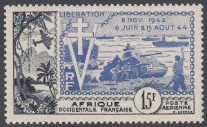 French West Africa C17 MVLH CV $12.00