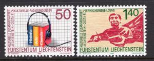 Liechtenstein 886-887 MNH VF