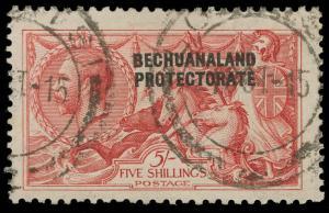 Bechuanaland Scott 93 Gibbons 84 Used Stamp