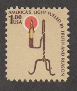 U.S. Scott #1610 Candle Light Stamp - Mint NH Single