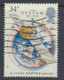 Great Britain SG 1354 -  Used - Isaac Newton