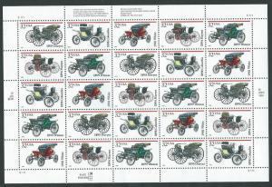 United States  Scott 3023a  MNH  Automabiles