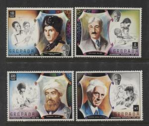 Grenada -Scott 399-402 - Education Year Issue -1971 -MLH- Set of 4 Stamps
