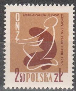 Poland #833  MNH   (K1279)