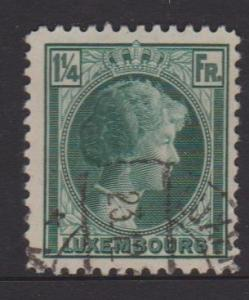 Luxembourg Sc#182 Used