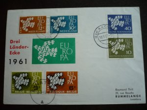 Europa 1961 - Cover - Netherlands - Belgium - Germany