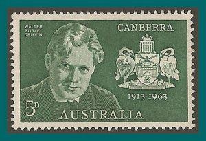 Australia 1963 Canberra, MLH #353,SG350