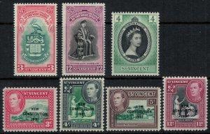 St. Vincent #174-9,85*  CV $3.35