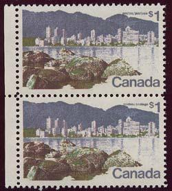 Canada - $1 Vancouver Pair Short $ Flaw mint