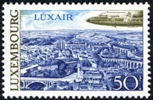 Luxembourg 1968 MNH Stamps Scott 473 Aviation Airplane Airlines Luxair