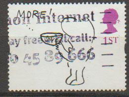 Great Britain QE II SG 1905p - 2 phosphor bands