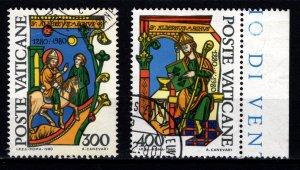 Vatican City 1980 700th Death Anniversary of St Albertus Magnus, Set [Used]