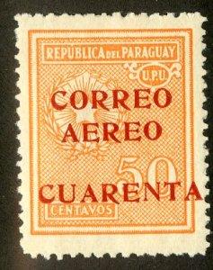 PARAGUAY C32 MH BIN $.60