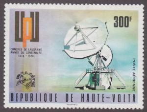 Burkina Faso C191 Radio Dish Antenna 1974