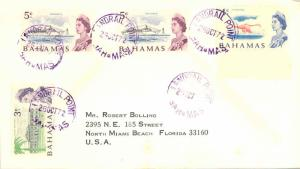 Bahamas 3c QEII High School, 4c QEII Flamingo and 5c QEII Liner 'Oceanic' (2)...