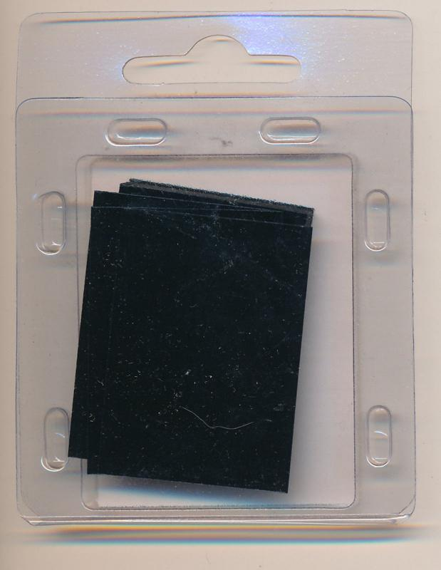 Prinz Scott Stamp Mounts Size 40 / 26 mm BLACK  (Pack of 40)  ( 40x26 )