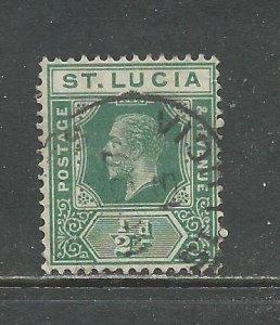 St Lucia Scott catalog # 64 Used