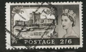 Great Britain Scott 525 used 1968 castle stamp CV$.50