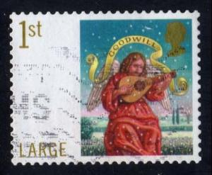 Great Britain #2527 Angel with Goodwill Banner, used (1.00)