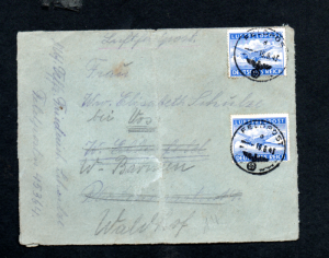 GERMANY  1943 FELDPOST COVER FROM POLAND