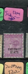 INDIA FARIDKOT  (PP0305B)  QV  8A  SG 12   MOG